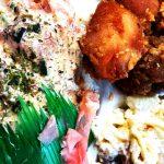 ハワイのコノヒキフィッシュマーケットのランチプレート