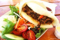 カウアイ島Kikuchisの名物バーガー