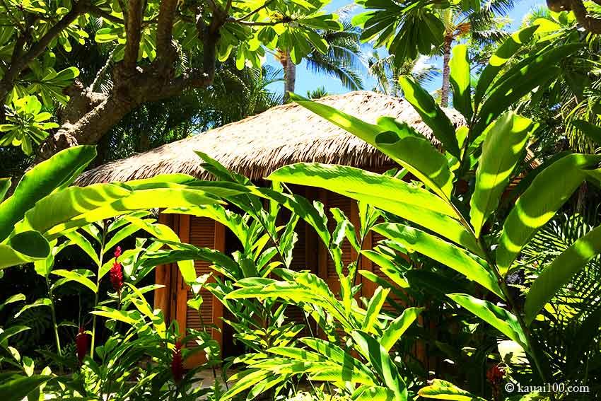 カウアイ島アナラスパのプライベートハレ