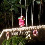 カウアイ島のクリスマスイルミネーション