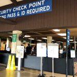リフエ空港 TSAセキュリティーチェックポイント