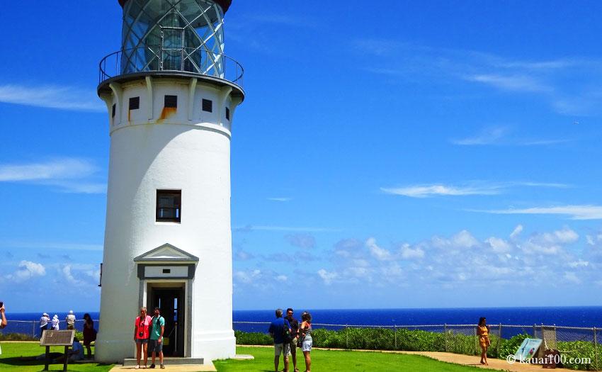 カウアイ島のキラウエア灯台