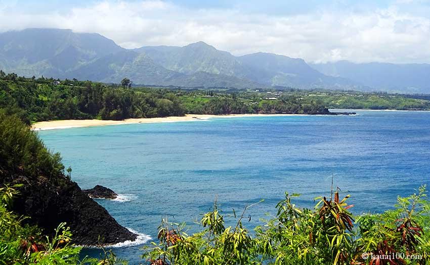 カウアイ島キラウエア灯台からの景色