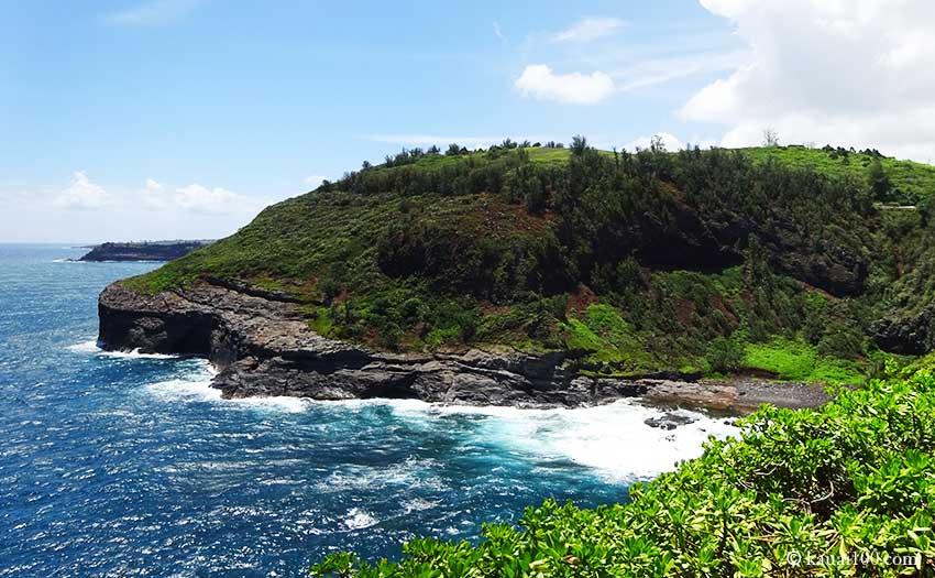 カウアイ島のキラウエアポイント