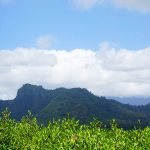 ハワイ・カウアイ島のスリーピング・ジャイアント