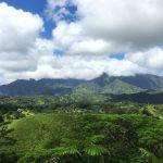 ハワイ州カウアイ島のワイアレアレ山
