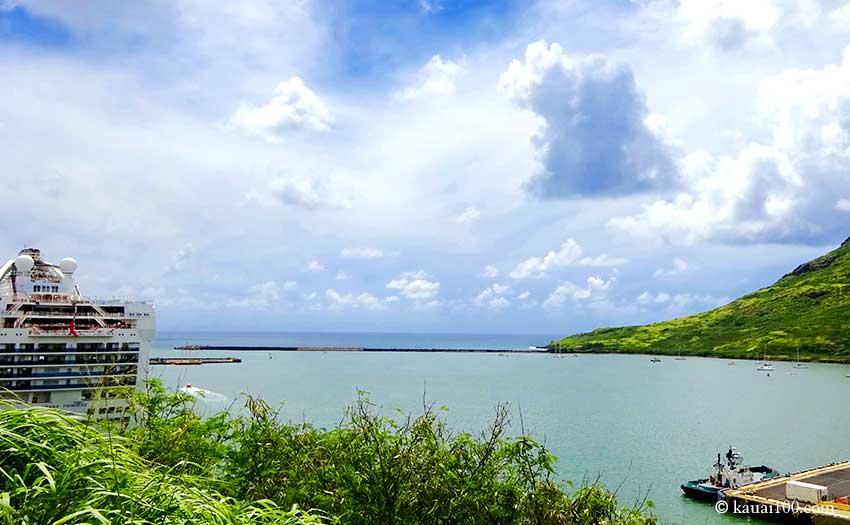 ナウィリウィリ港からの眺望