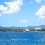 ハワイ州カウアイ島のナウィリウィリ港