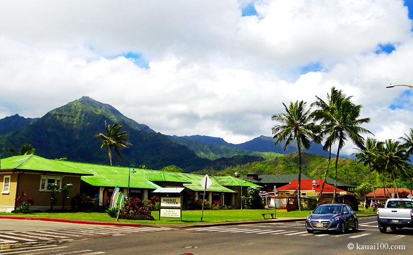 カウアイ島ハナレイタウン