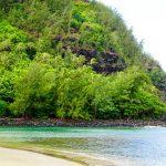 カウアイ島ケエ・ビーチ