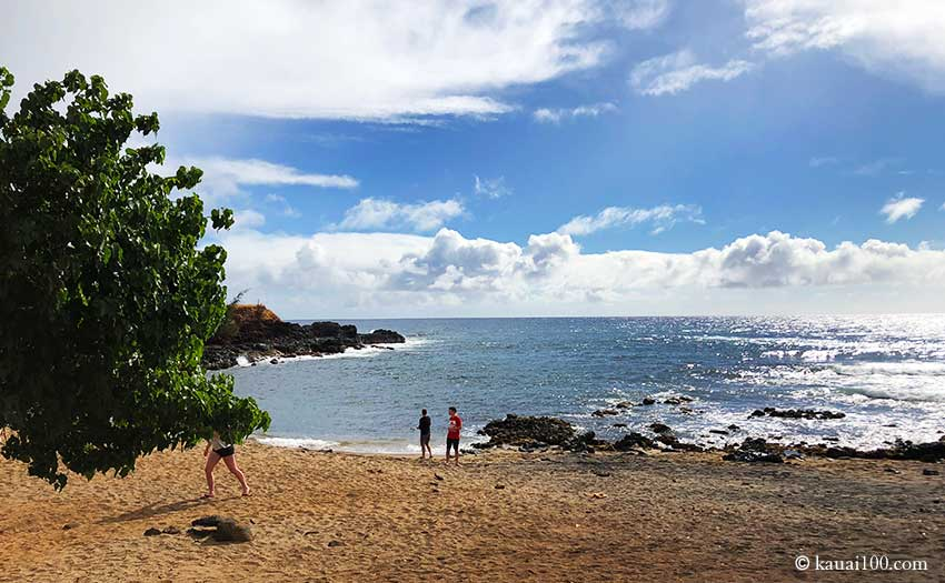 カウアイ島 グラスビーチ