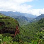 カウアイ島 ハナペペ渓谷展望台
