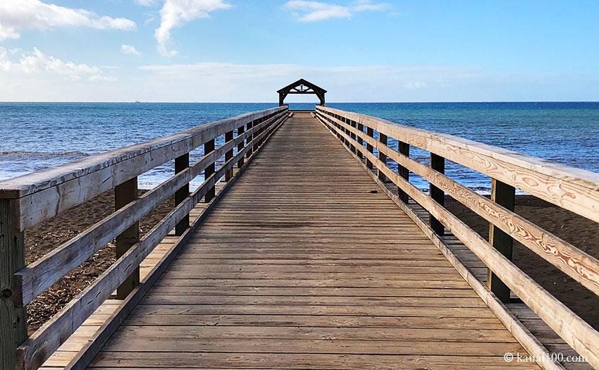 カウアイ島 ワイメア桟橋