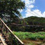 ハワイ・カウアイ島 ワイメア・スウィンギング・ブリッジ