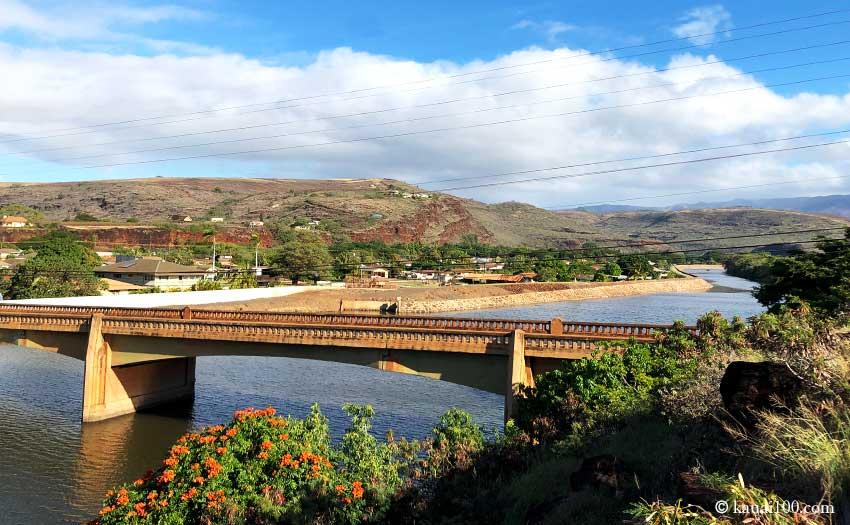 ハワイ・カウアイ島 Waimea River