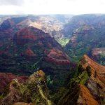 ワイメア渓谷展望台からの風景