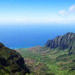 ハワイ州カウアイ島のコケエ州立公園