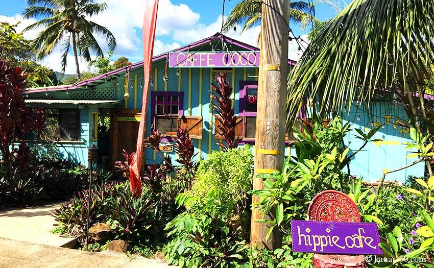 ハワイ・カウアイ島のカフェ・ココ