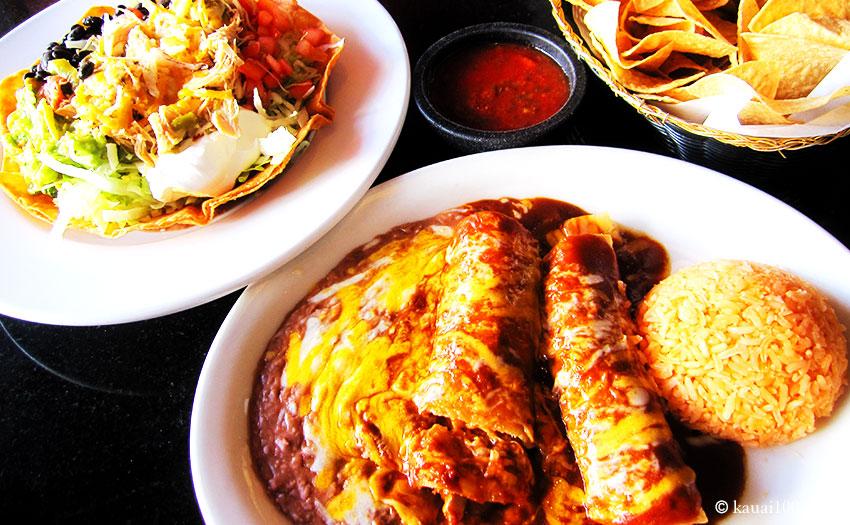 カウアイ島Mariachisのメキシコ料理