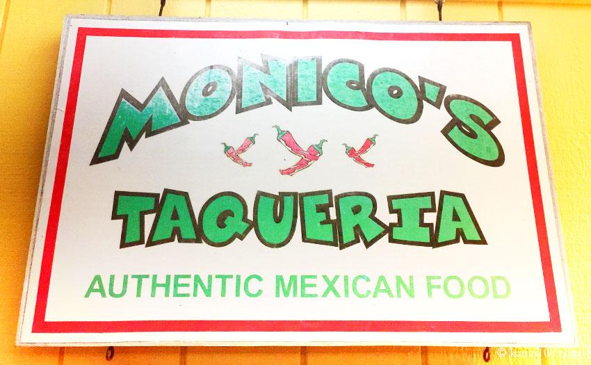 ハワイ・カウアイ島のメキシコ料理店モニコス